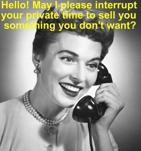 50s Lady on telephone