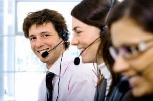 Auditing a phone team